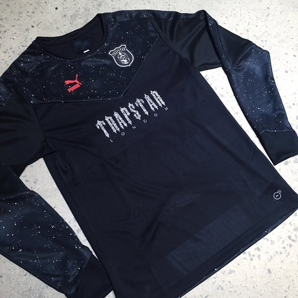 062147d002 Puma Shirts   X Trapstar Football Jersey Uk Sz L Deadstock   Poshmark